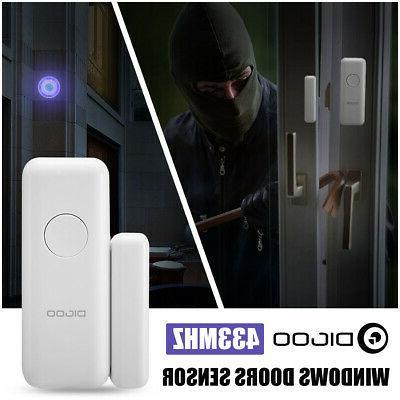wireless home window door burglar security system