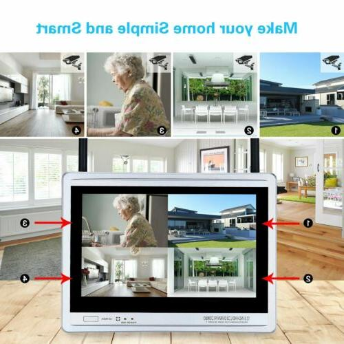 Wireless Security 8CH 1TB Home DVR