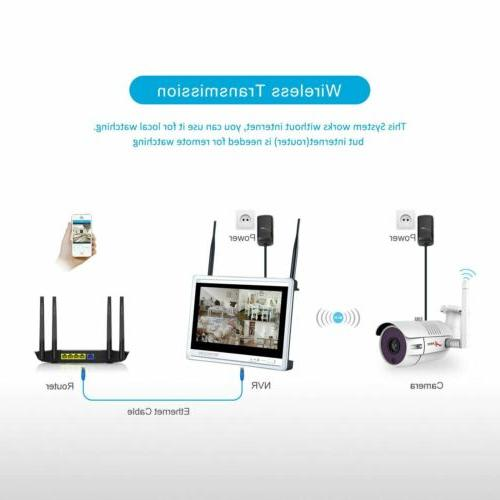 Wireless Security 8CH Home