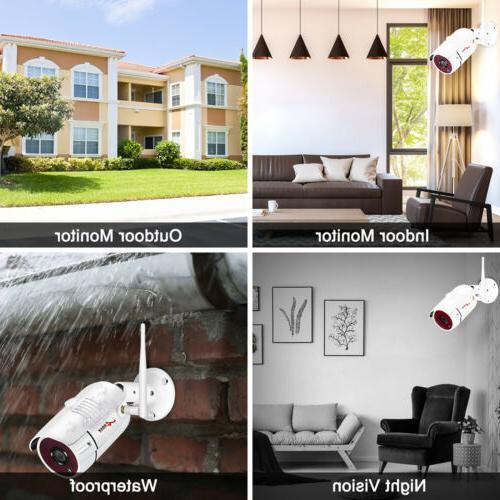 ANRAN Video IP Cameras Outdoor Vision