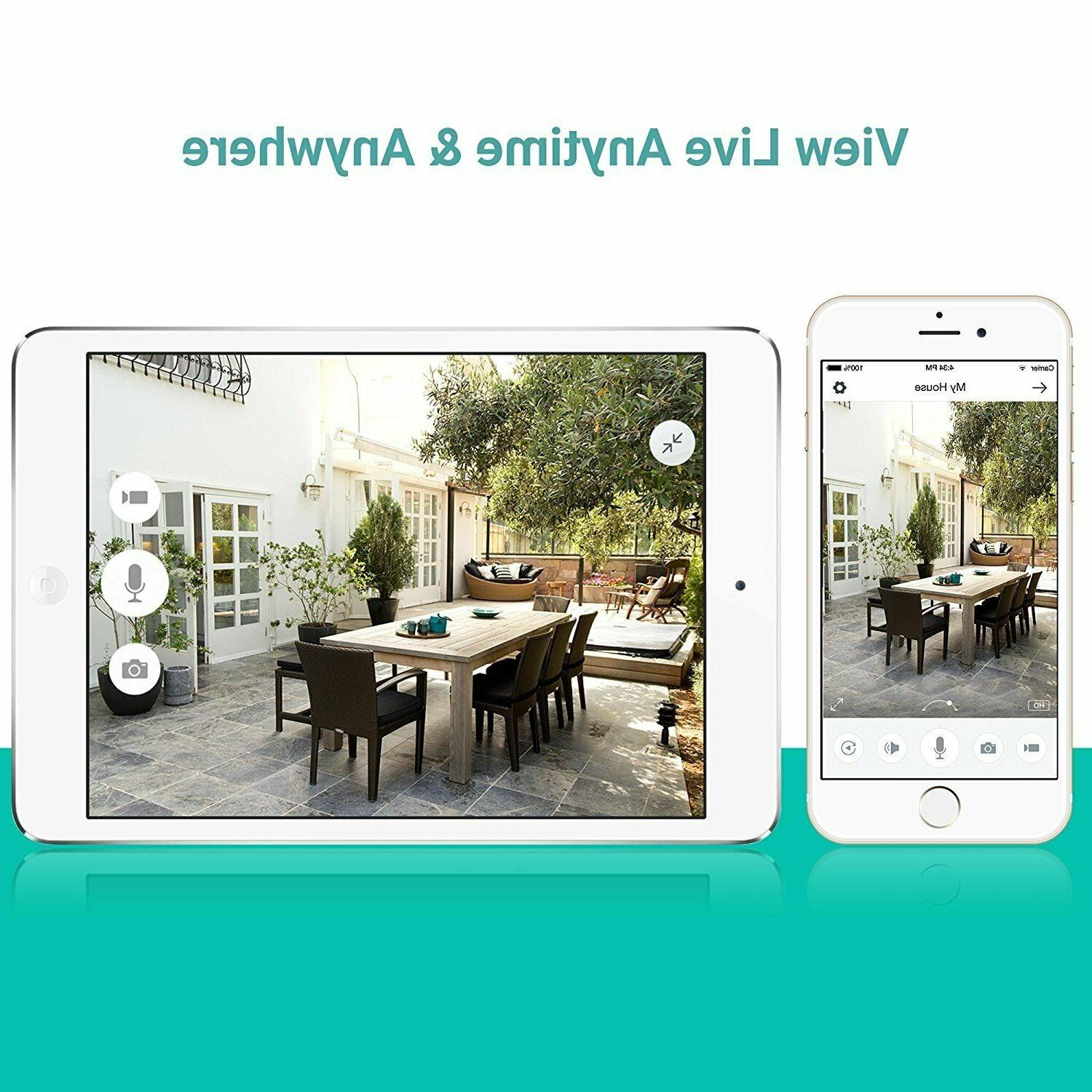 Funlux Security Camera System Smart Indoor 2 PACK
