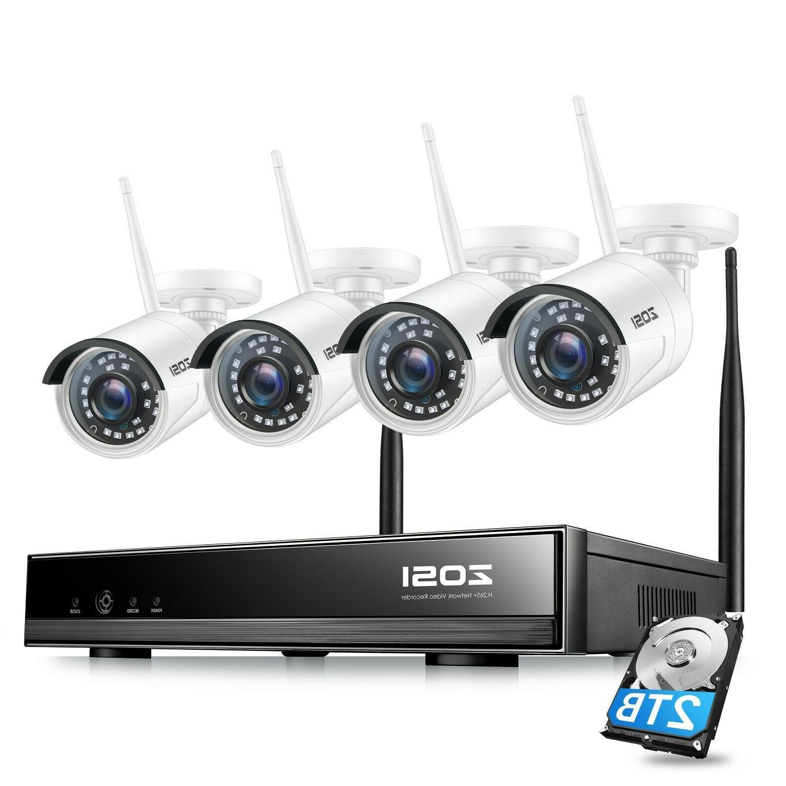 wireless security ip camera system 1080p wifi