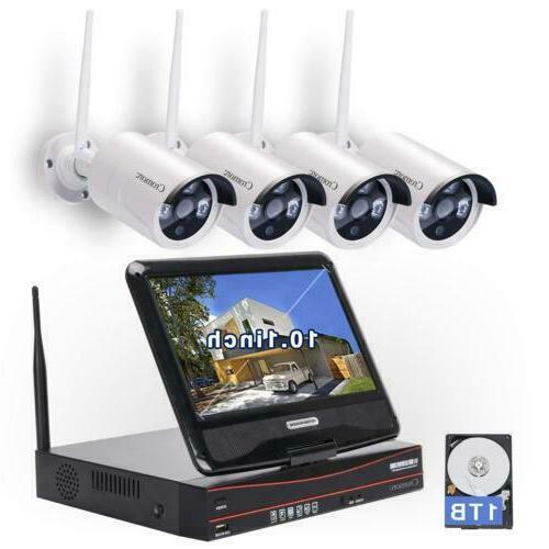 wireless security surveillance system wifi