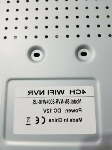 Incosky Security 4-720P Cameras-4CH