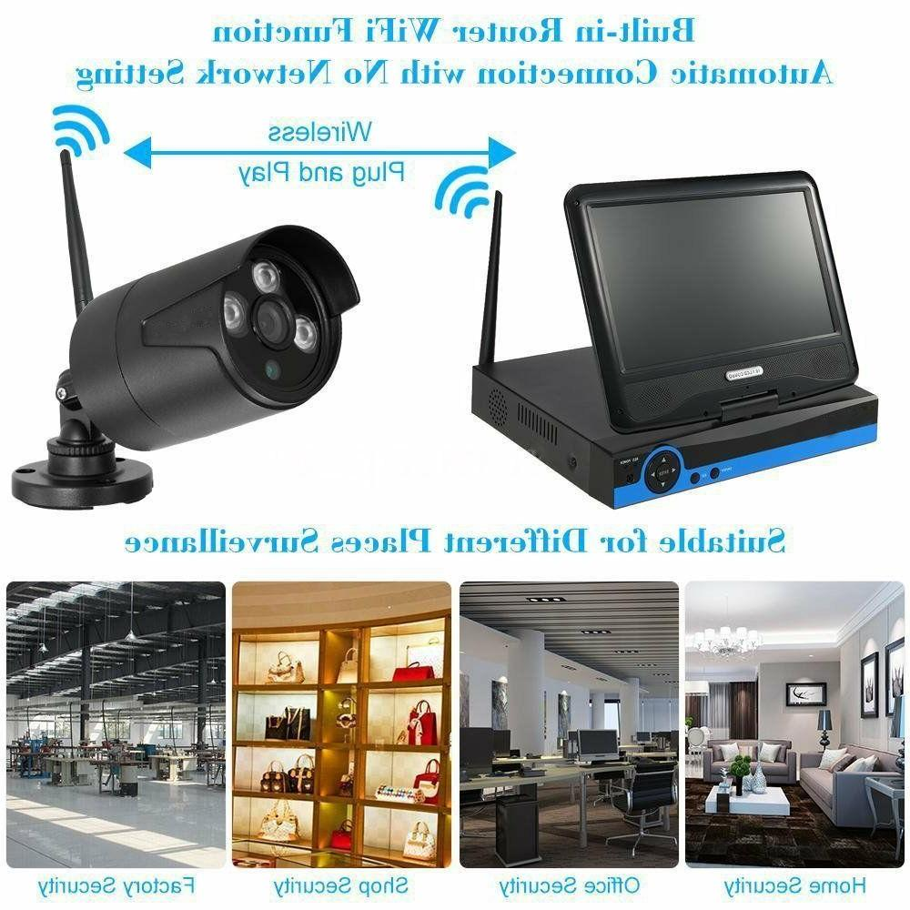 Wireless Security IP Camera Monitor Home