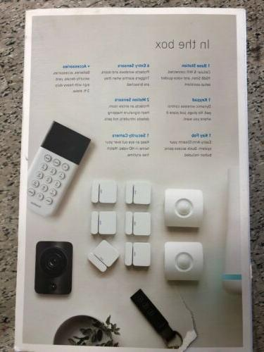 SimpliSafe Home Security System with