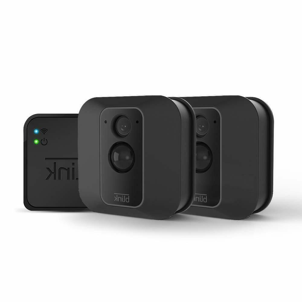 Blink XT2 Smart Home Security Camera System 2-Pack Outdoor/I