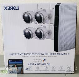 Lorex L222A8D-2AA4 1080P 32GB 8 Channel Security System W/ 4