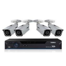 Lorex LNR6100 8-Channel 4K UHD NVR with 2TB HDD and 4X LNB80
