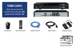 Lorex LNR61082T 4K NVR w/ 8 Channels  2TB HDD