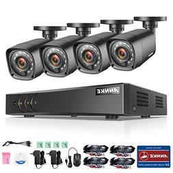 ANNKE Max 10CH 1080P Lite H.264+ HD-TVI Security DVR w/ 4x 1