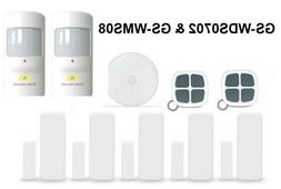Golden Security Motion Sensor, Window Door Sensor, Remote Co