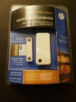 NEW! GE Choice Alert Wireless Alarm System Window/Door Senso