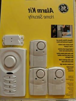 GE NEW! HOME SECURITY WINDOW & DOOR ALARM KIT MODEL #GESECK2