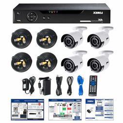 NEW Lorex LHV5824B 8CH 4K DVR 2TB 4 UHD 4K Bullet Camera Sec