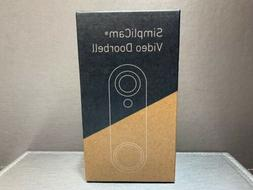NEW SimpliSafe SimpliCam Video Doorbell Free Fast Shipping !