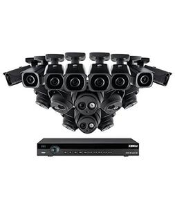 Lorex 16 channel NR9163 4K Security System 4KHDIP1688N- 8 4K