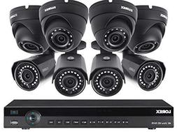 Lorex 16 Channel 4K NVR 8 IP Cameras Security System NR9163X
