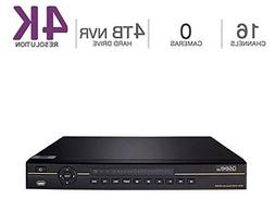 Q-See 4K  NVR IP Ultra-HD 16-Channel with 4TB HDD with H.265