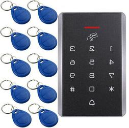 125KHz One 1 Door RFID Card Access Control Keypad Support 10
