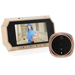 """KKmoon 4.3"""" LCD Digital Peephole Viewer 160° PIR Door Eye D"""