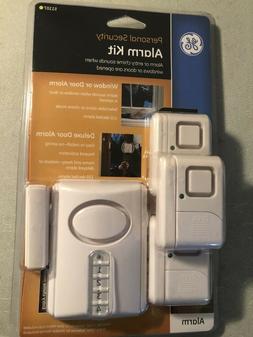 GE Personal Security Alarm Kit Includes Deluxe Door Alarm wi