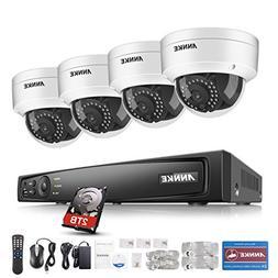 ANNKE 1080P True PoE Surveillance Camera System 4CH 6.0MP NV