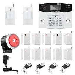 Professional Wireless Home Security System Burgler Alarm Rem
