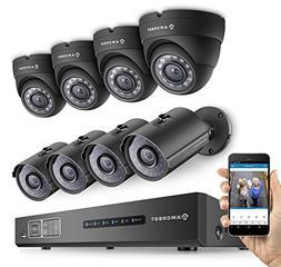 Amcrest ProHD 720P 8CH Video Security System - 8 x 1.0-Megap