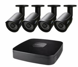 Q-See 4-Channel 4-Camera 1080p Security System with 500GB DV