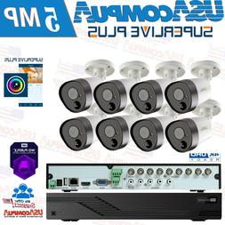 Q-SEE 8 CH 8 CAMERA 1080P SECURITY SYSTEM KIT WITH 1TB WD PU