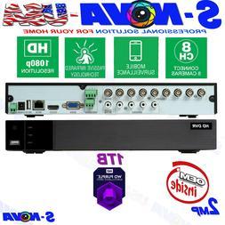 Q-See OEM 8 Channel 1TB HD 1080p Analog DVR  QTH98-1. ⭐️