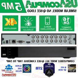 TVT SIMILAR QTH163-2 or QTH916-2 16 Ch 1080p HD 2TB Hard Dri