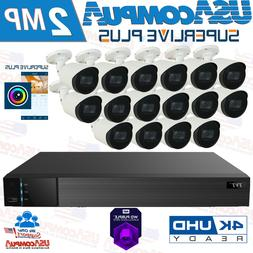 Q-See vs TVT  Security System 16 Channel 4K  /HD Analog Came