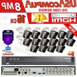 Q-See Security System  4K 16 Channel 5MP Cameras KIT 2.8mm h