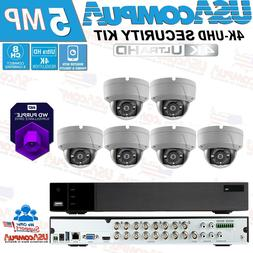 Q-SEE SECURITY SYSTEM  8 CH 6 CAMERA 1080P KIT WITH 1TB WD P
