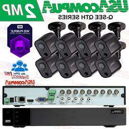 Q-SEE Security System 8-Channel 1080p  Motion Activated Came