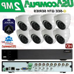 Q-See Security System 8 Channel KIT QTH98