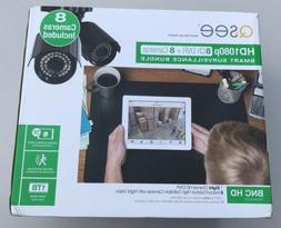 Q-SEEHeritageHD Series 8-Channel 1080p 1TB Video Surveillanc