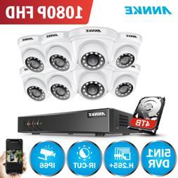 ANNKE 3MP HD Video Security IR Camera System 8CH H.264+ DVR