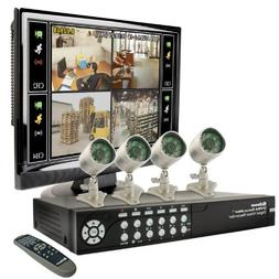 Swann SECURANET-4 Bulldog LCD Combo Kit