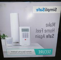 New SimpliSafe Secure Home Security System 6 Piece Kit 24/7
