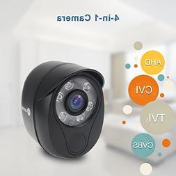 """Security Camera,1/4"""" CMOS 720P HD 2000TVL Outdoor/Indoor H"""