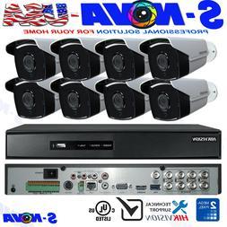 HIKVISION SECURITY CAMERA SYSTEM KIT BULLET 1080P TURBO-HD I