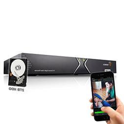 TIGERSECU Full HD 1080P 16-Channel Video Security Camera DVR