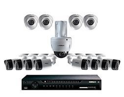 Lorex 16 Channel 720P HD Security System 12 Camera plus PTZ