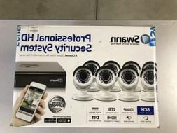 Swann Security System  1080HD Cameras with 2TB Hard Drive DV