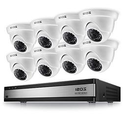 ZOSI 720p 16 Channel Security Camera System,16 Channel Full