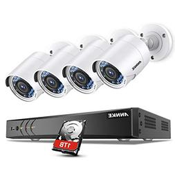 ANNKE H.264+ 1080P Security Camera System DVR Recorder with