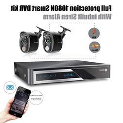 ELEC 960H Video Security System 4 Channel HDMI DVR Surveilla